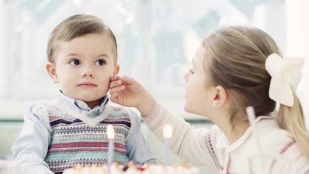 Prins Oscar fyller två år – här är nya bilderna