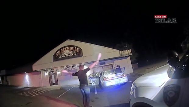 Trollkarl stoppad - gör tricket som får polisen att häpna