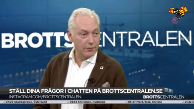 Johan Eriksson om TV4-profilen