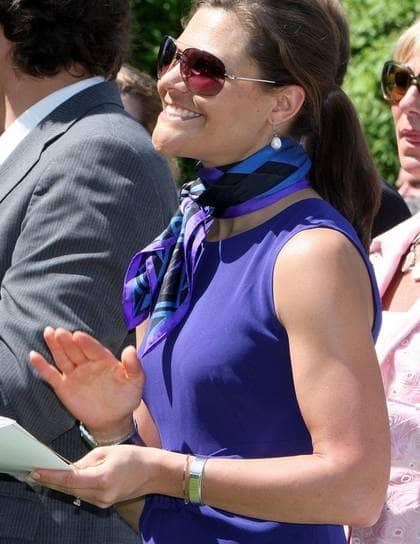 Kronprinsessan Victoria har tränat intensivt i många år.