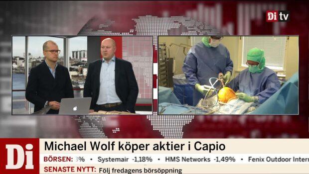 Michael Wolf köper aktier i Capio
