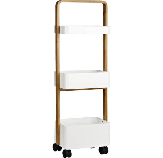 Badrumsförvaring. Vagn till badrummet, 399 kronor, Åhléns.