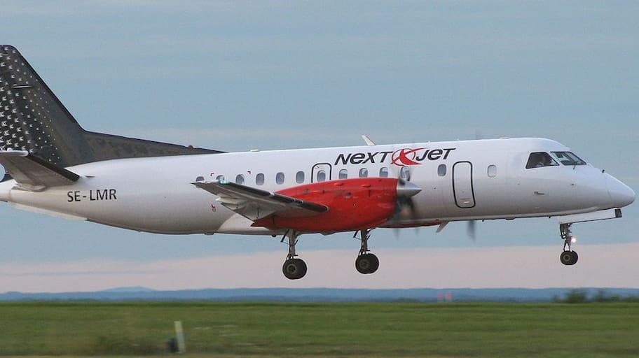 Krisande Nextjet har inte rätt att utföra flygningar efter den