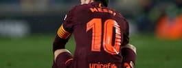 Messi brände straff när Barcelona föll