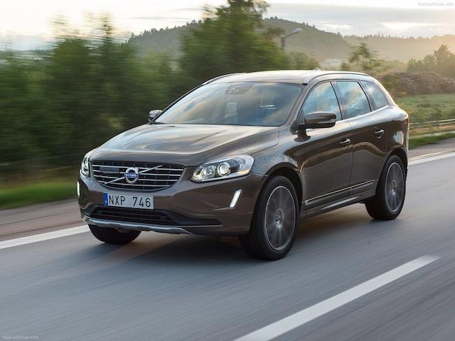 Volvos populära XC60 – den förra modellen – är dyraste bilen att serva bland storsäljarna förra året.