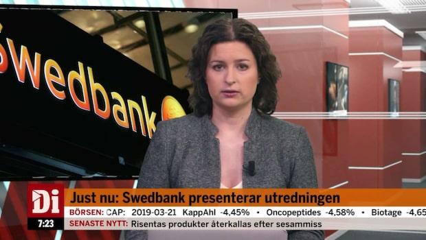 Swedbank presenterar utredningen - se hela extrasändningen