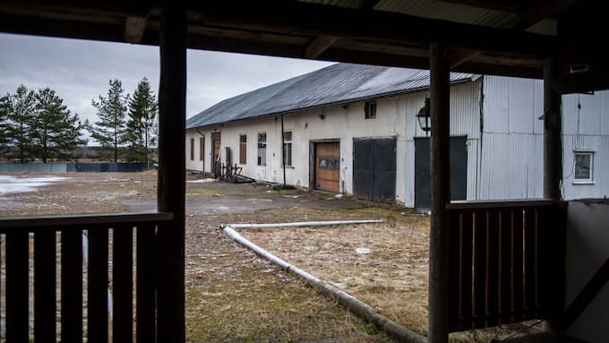 Hells Angels gamla gård i Hertsöga. Foto: David Hårseth/Dagsmedia