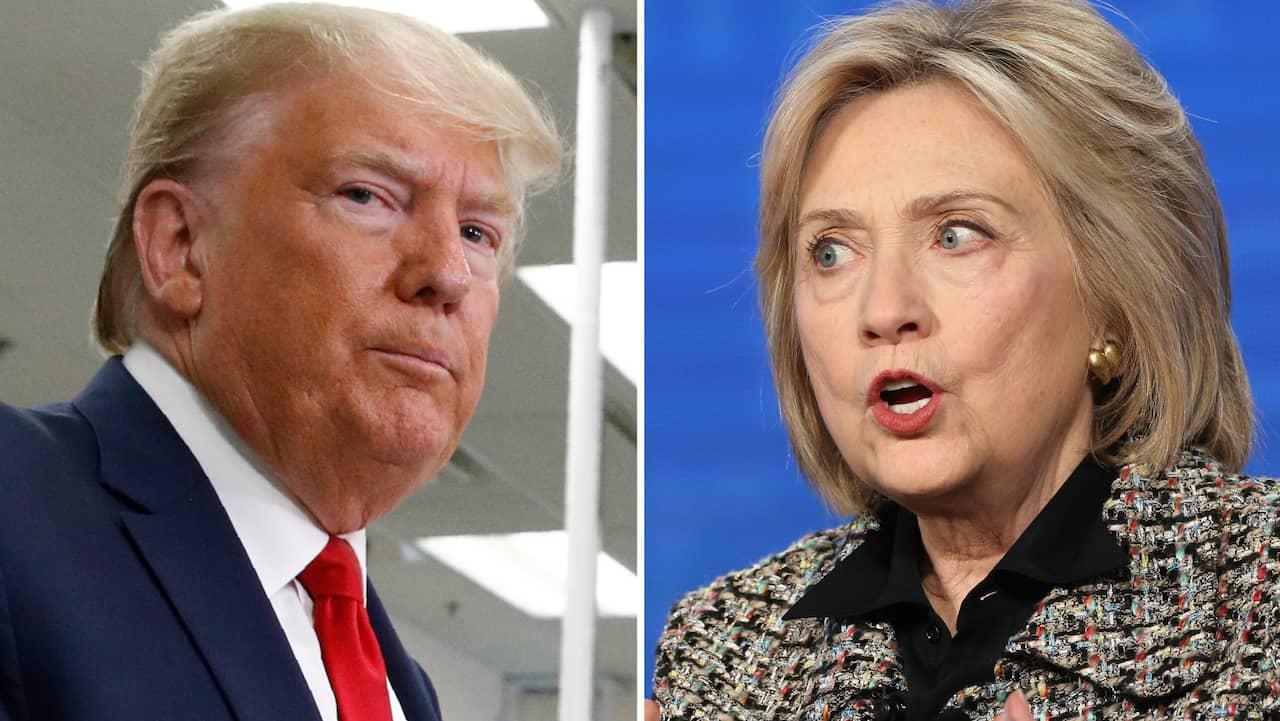 Hillary Clintons nya råsop mot Trump