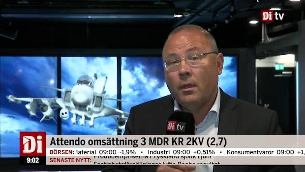 """Saab:s vd - """"marknadsaktiviteterna och orderläget ser bra ut"""""""