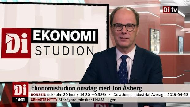 Ekonomistudion 24 april 2019 - se hela programmet