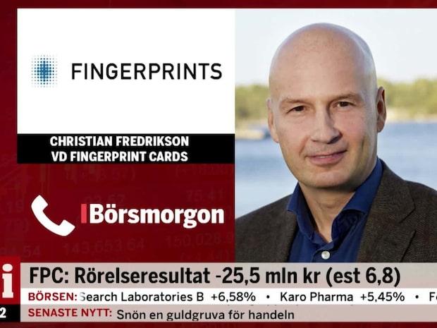 Fingerprints VD är nöjd med det fjärde kvartalet