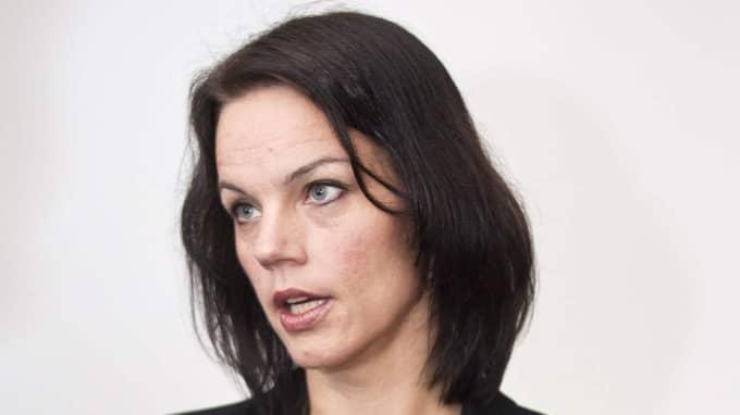 """""""Ta tag i problemen."""" Anna Kinberg Batra för en antifeministisk politik"""", anser Veronica Palm. Foto: Lisa Mattisson"""