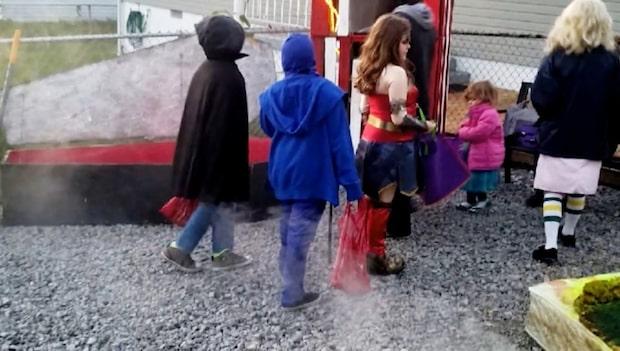 Halloweenfirandet slutade i en mardröm när 3-åring fick droger i godispåsen