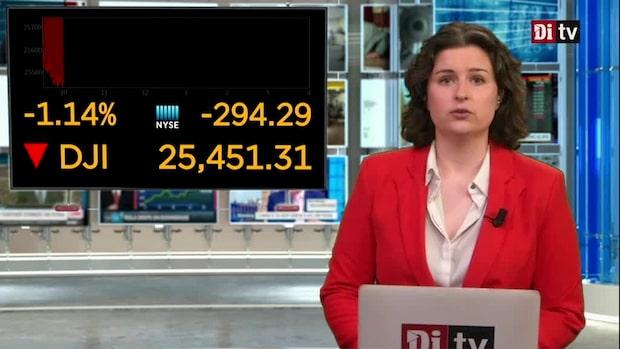 Di Marknadsnytt 16.00: USA-börserna öppnar fredagen med fallande kurser