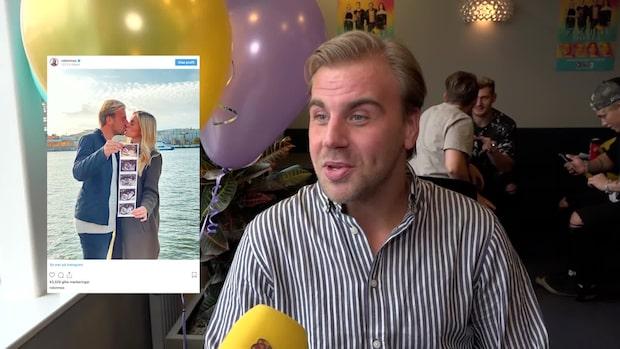 """Robin """"Mos"""" Andersson om att bli pappa: """"Overkligt"""""""