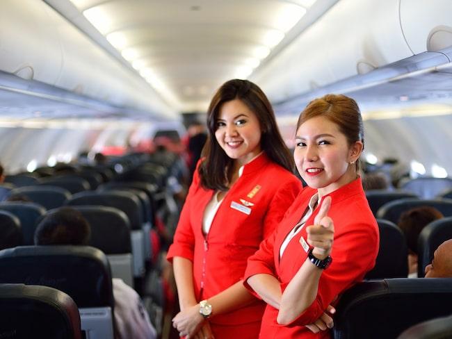 Hör du kabinpersonalen på flyget prata om resor de planerar? Då kan det handla om något helt annat.