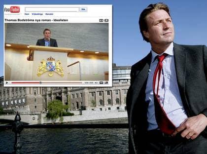 Thomas Bodström, S, kritiseras för att ha gjort reklam för sin egen bok i riksdagen. Foto: Olle Sporrong