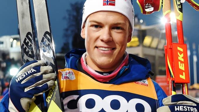 Johannes Hösflot Kläbo. Foto: PETTER ARVIDSON / BILDBYRÅN