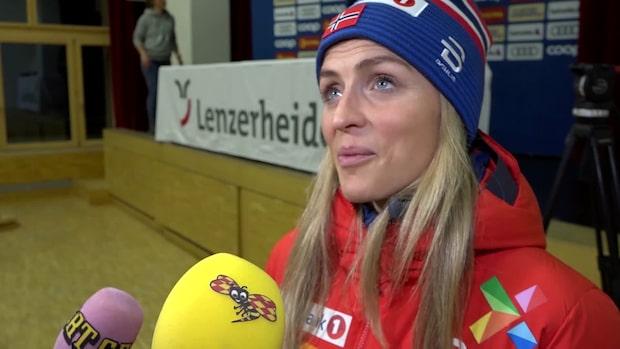 "Therese Johaugs stora test: ""Det blir spännande"""