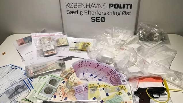 Här är beslaget som den danska polisen gjorde i veckan. Foto: Dansk polis