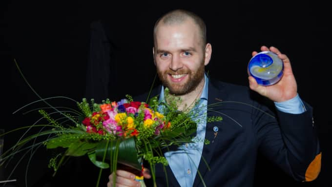 Juryns Specialpris gick till Johan Jepson, IFK Kristianstad Foto: Peo Möller