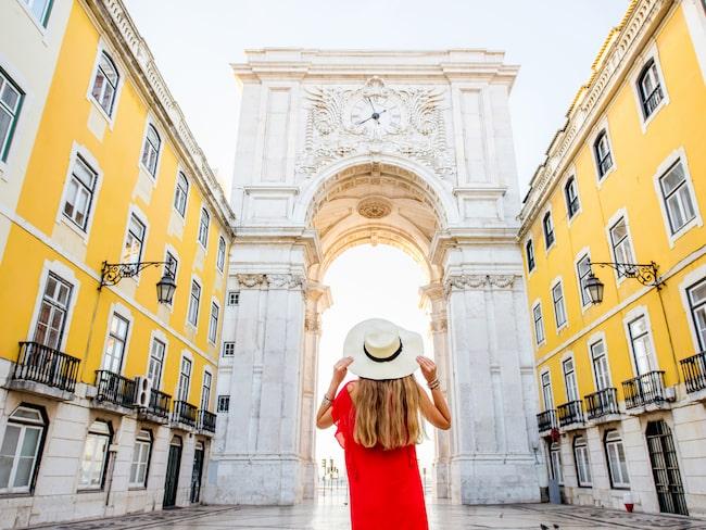 Lissabon i Portugal är en av världens mest välkomnande turistmål.