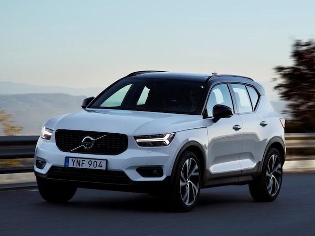 Modellen kommer snart att bli Volvos första elbil.