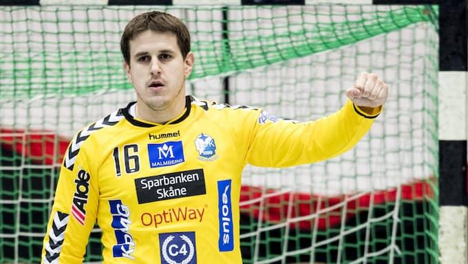 IFK Kristianstads Nebojsa Simic gav fina vitsord om HIF Karlskrona och Handbollsligan. Foto: PETTER ARVIDSON
