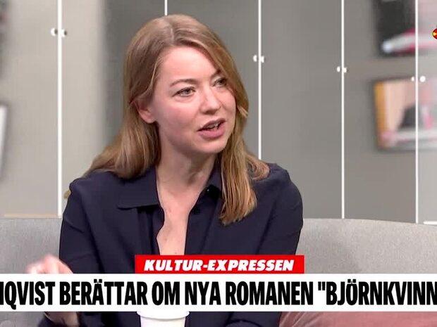 """Daniel Sjölin möter Karolina Ramqvist - aktuell med """"Björnkvinnan"""""""