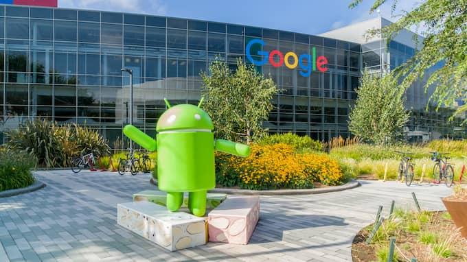 De svenska företrädarna för Google är förmodligen fjärrstyrda av huvudkontoret i USA, skriver Willy Silberstein. Foto: KEN WOLTER / ALAMY/IBL