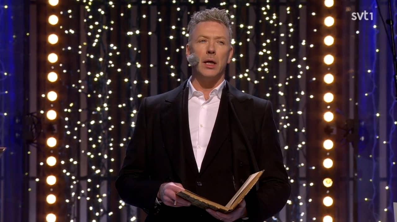 Mikael persbrandt nyårsklockan