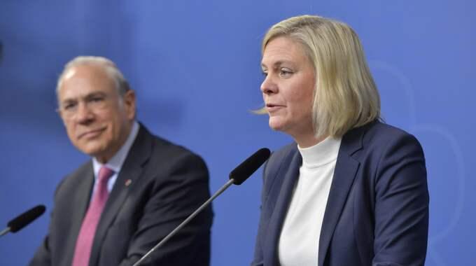 Svensk ekonomi växer och hör till en av de snabbast växande ekonomierna i världen. Foto: Jessica Gow/Tt / TT NYHETSBYRÅN