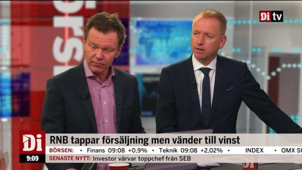 """Petersson om RNBs rapport: """"Ett fall framåt"""""""