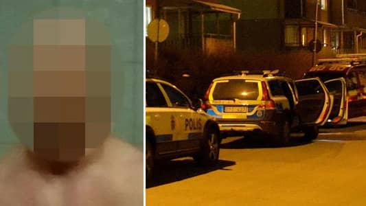 Polisens razzia mot mordmisstankte mannens hus