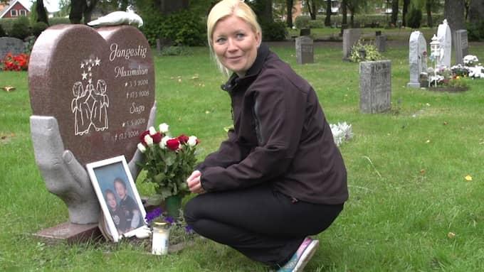 Emma Jangestigs två barn mördades i ett av Sveriges mest uppmärksammade kriminalfall. Foto: Stefan Eriksson, Brottscentralen