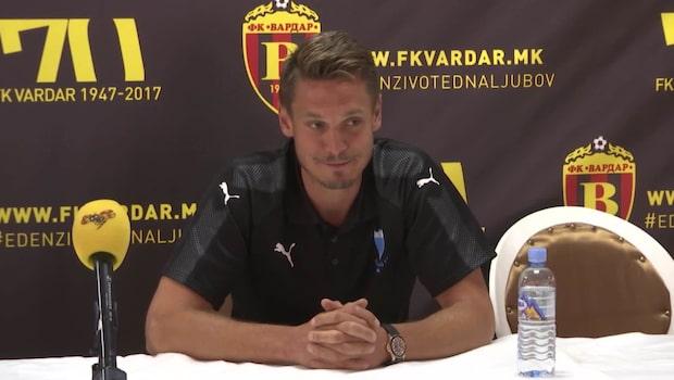 """Kapten Rosenberg i Makedonien: """"Jag vill alltid starta"""""""