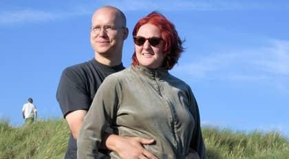 """""""JAG SAKNAR HENNE"""". Ola och Liza Sundberg gifte sig 2006. Foto: Privat"""