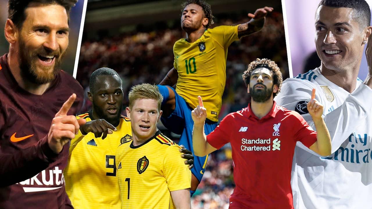 VM 2018  19 största spelarna i VM – stor ranking 03c01a19b368e