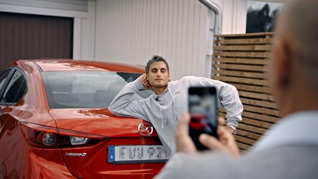 """""""Jag har köpt och sålt på Blocket i hela mitt liv, eller sedan jag var 15 år i alla fall"""", säger Samir."""