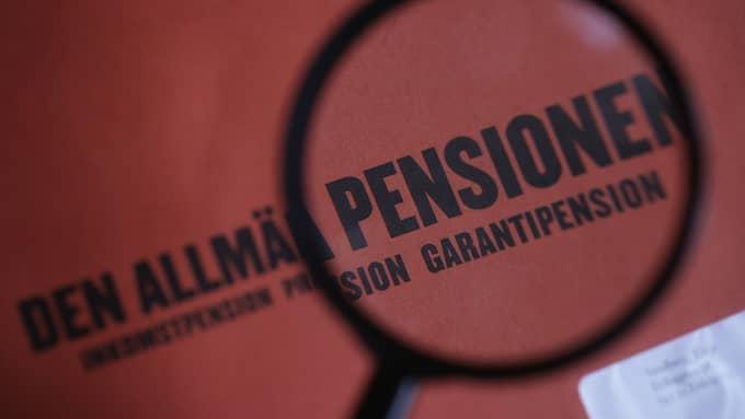 Det finns mer än 800 valbara fonder i PPM-systemet. Foto: FREDRIK SANDBERG / TT / TT NYHETSBYRÅN