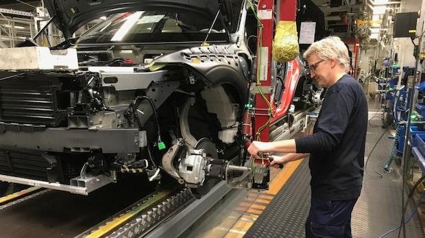 Så är det att jobba en dag i Volvos fabrik