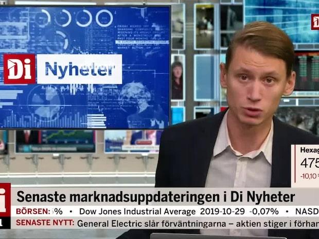 Di Nyheter: Hexagon rapporterar fortsatt negativ organisk tillväxt