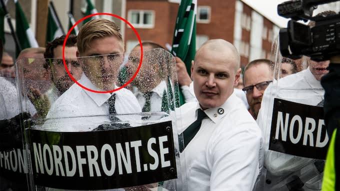 Anton Thulin (inringad) häktades på fredagen misstänkt för sprängladdningen som placerats intill Lilleby camping. Foto: EXPO