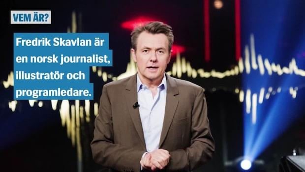 Vem är Fredrik Skavlan?