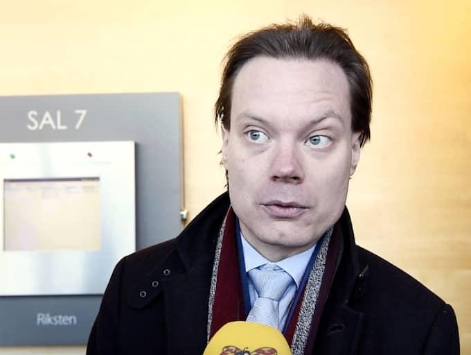 Martin Kinnunen fälls för bokföringsbrott. Foto: Sven Lindwall