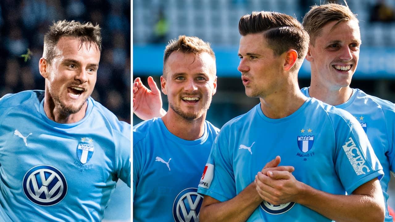 Backen förlänger sitt kontrakt med Malmö