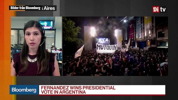Världens Affärer: Fernández gick segrande ur argentinska presidentvalet