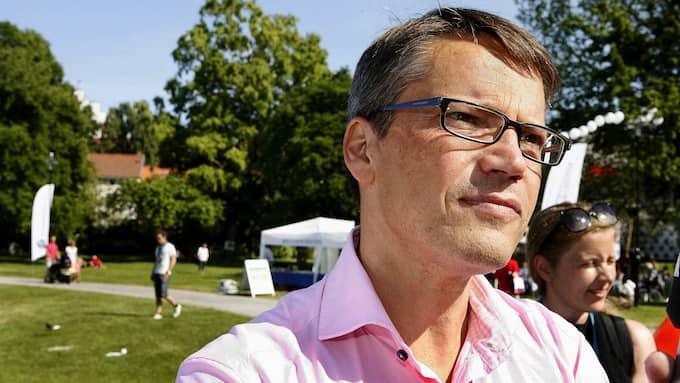 """Göran Hägglund, dåvarande partiledare för Kristdemokraterna, återlanserade begreppet """"verklighetens folk"""" 2009. Ursprungligen användes det av populistpartiet Ny demokrati. Foto: CORNELIA NORDSTRÖM"""