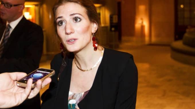 Kristdemokraternas bostadspolitiska talesperson Caroline Szyber har lämnat in KU-anmälan. Foto: Nils Petter Nilsson