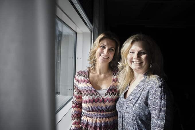"""Vännerna prinsessan Märtha Louise och Elisabeth Nordeng vill med företaget """"Soulspring"""" förändra världen och öka kunskapen om högsensitivitet. Foto: ADAM WRAFTER"""